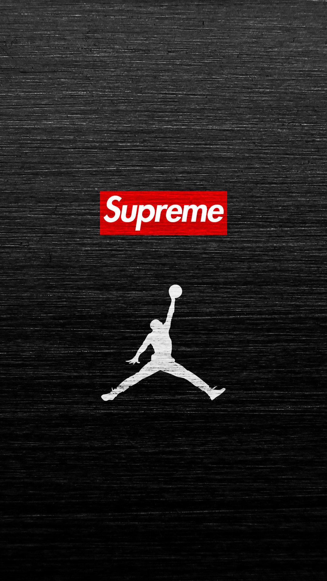 Simple Iphone X Wallpaper Air Jordan Supreme Iphone Wallpaper Hd