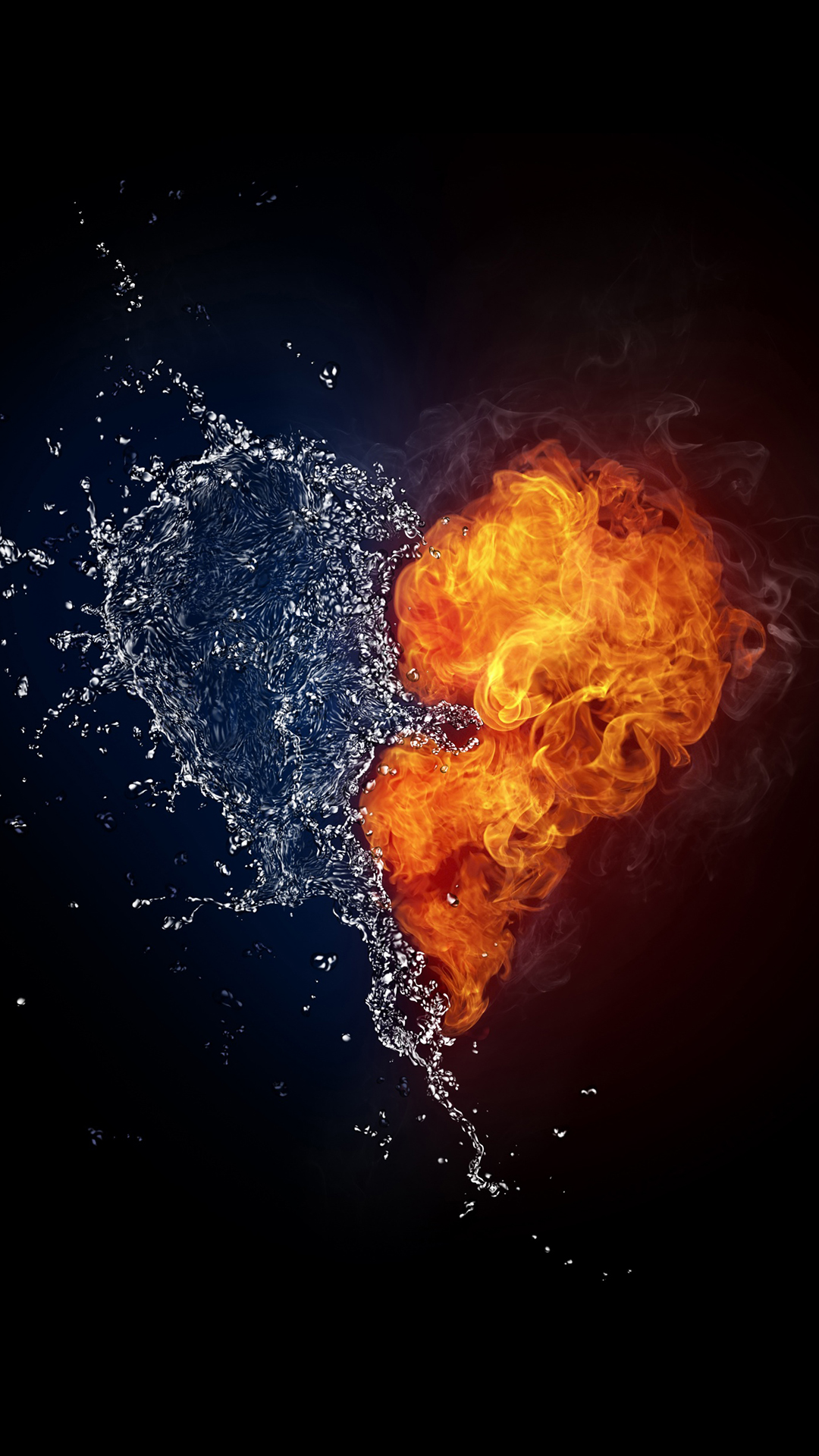 Simple Wallpapers For Iphone 5 Water And Flames Iphone Wallpaper Hd