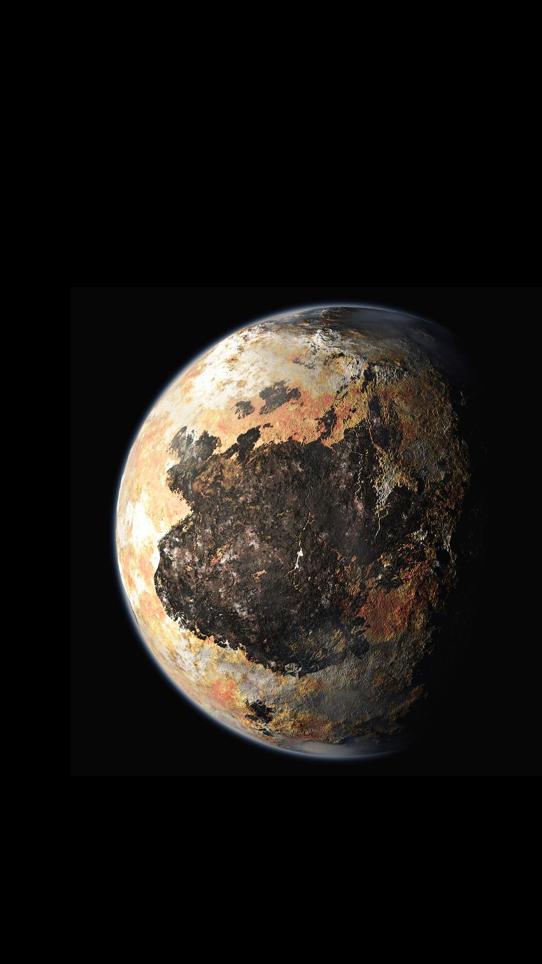 3d Earth Wallpaper Hd Pluto New Horizon Iphone Wallpaper Hd