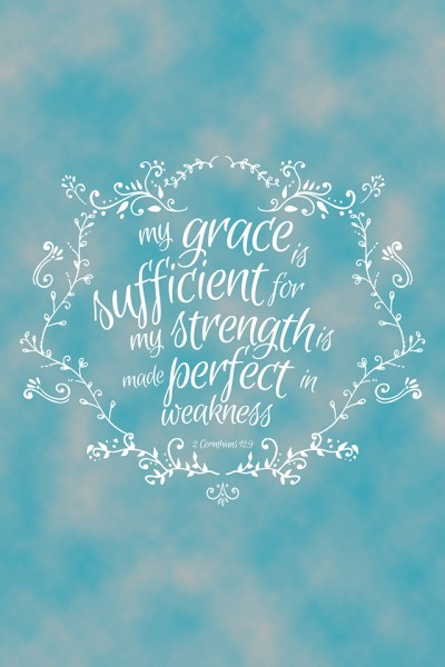 Grace Quote iPhone Wallpaper HD