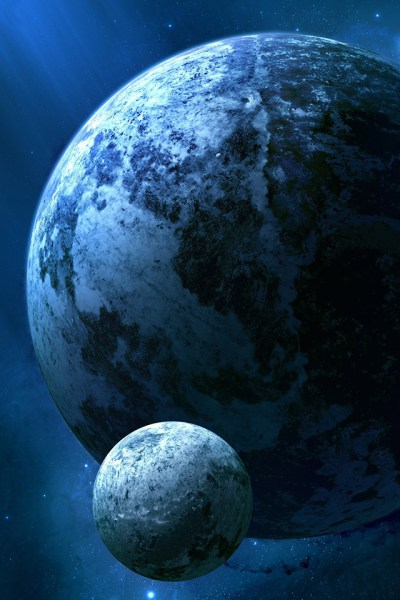 Kepler Planet iPhone Wallpaper HD