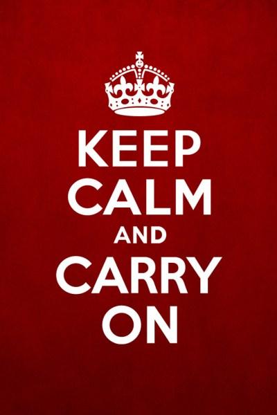 Keep Calm iPhone Wallpaper HD