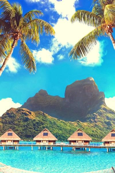 Bora Bora iPhone Wallpaper HD