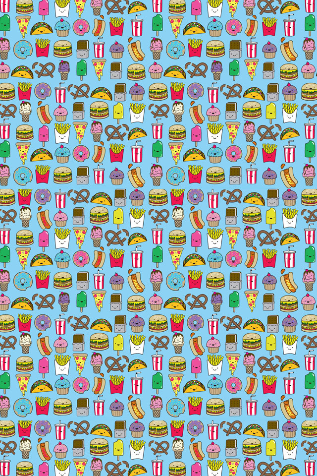 Quotes Wallpaper For Iphone 5c Junk Food Pattern Iphone Wallpaper Hd