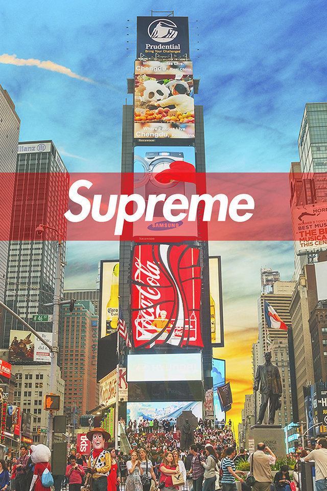 Times Square Iphone 6 Wallpaper Supreme New York Iphone Wallpaper Hd