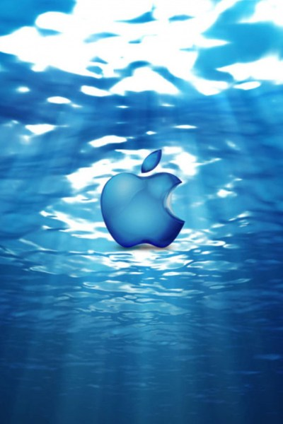 Apple Underwater iPhone Wallpaper HD