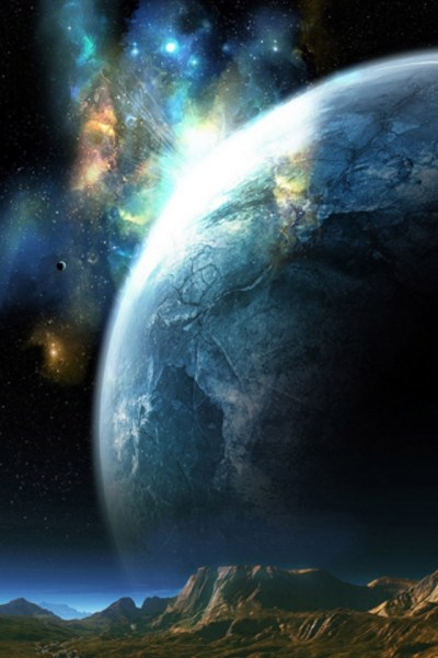 Planet Closeup iPhone Wallpaper HD