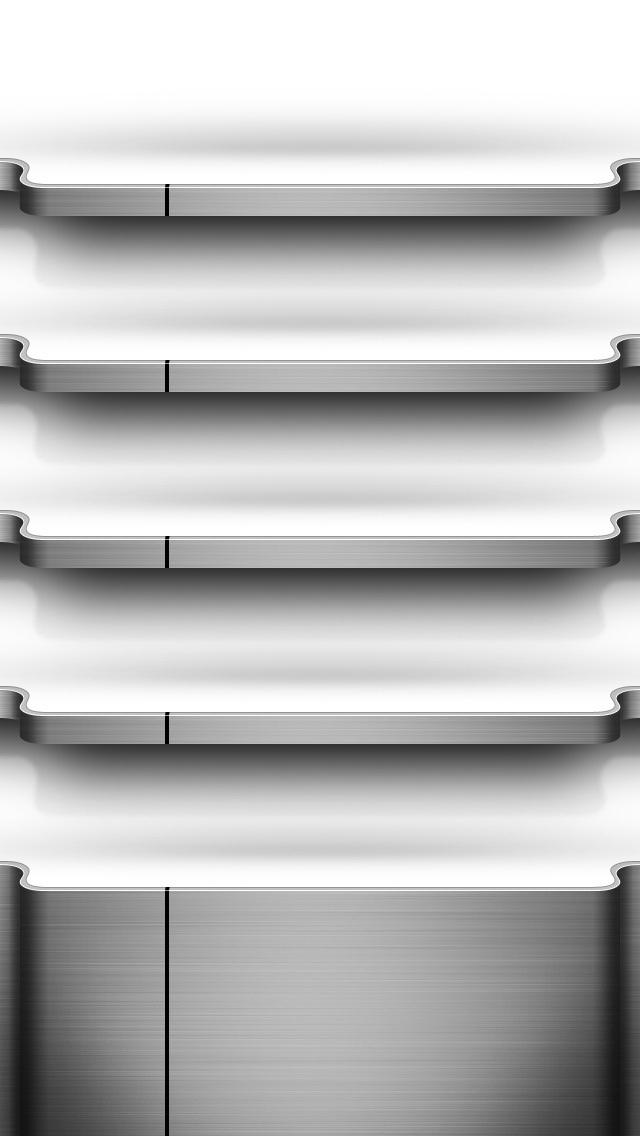 3d Wallpapers In Kenya Chrome Shelf Iphone Wallpaper Hd