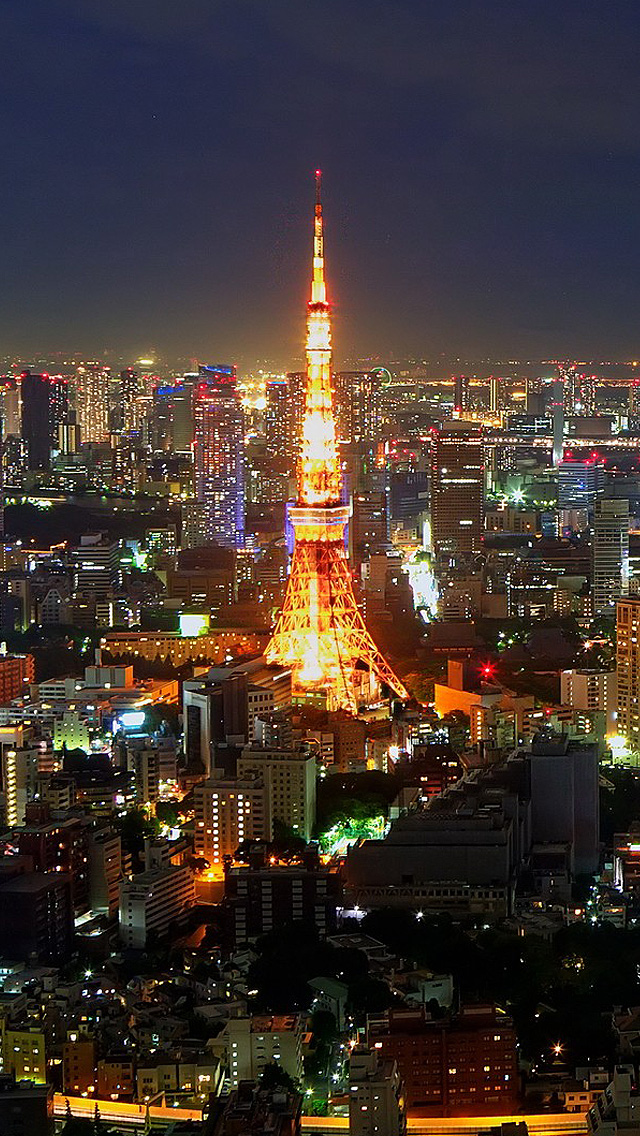 3d Pyramid Wallpaper Tokyo Iphone Wallpaper Hd