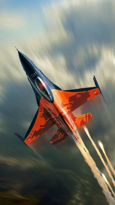 F16 Fighting Falcon iPhone Wallpaper HD