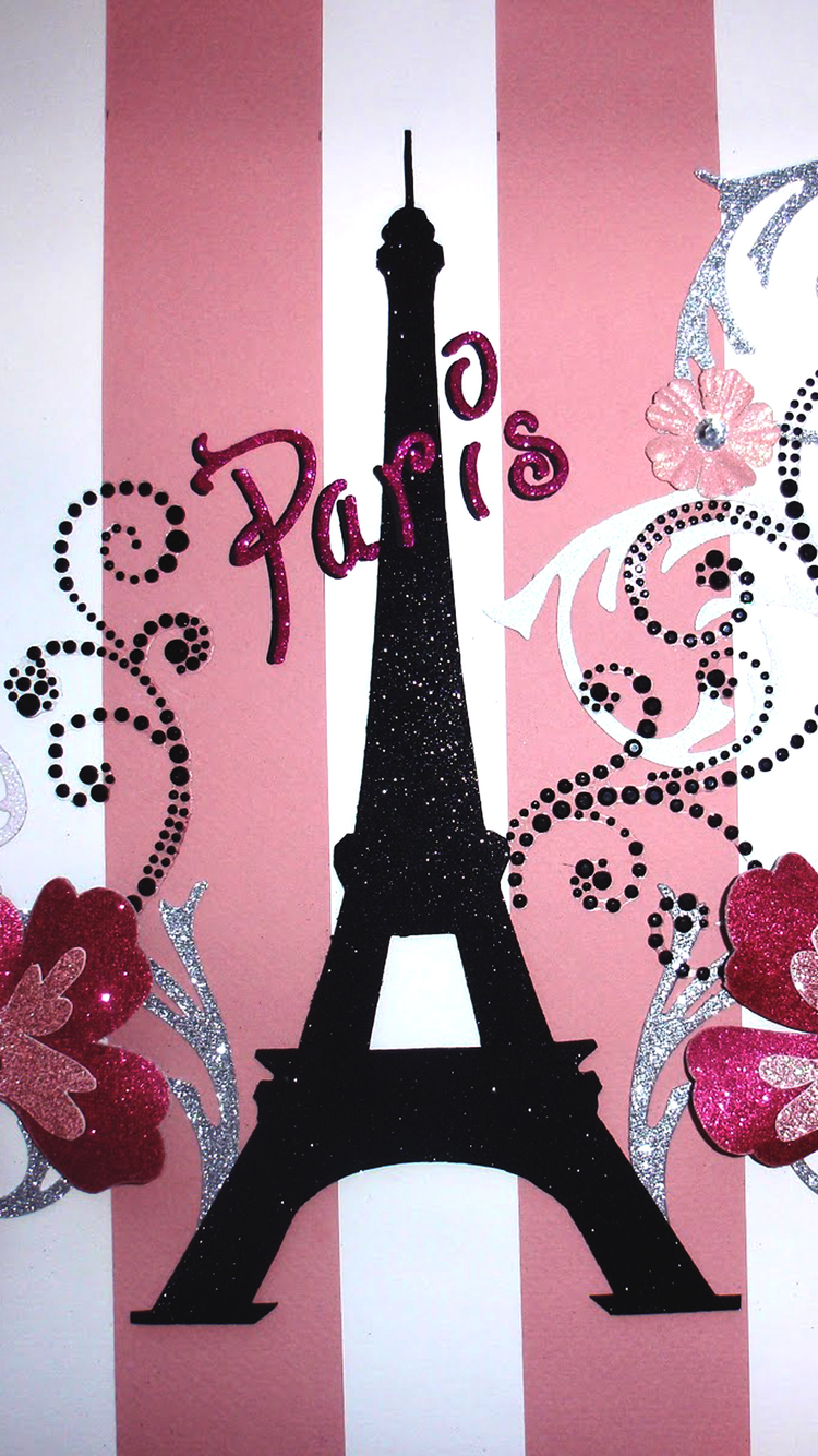 Girly Iphone 7 Wallpaper Paris Pink Iphone Wallpaper Hd