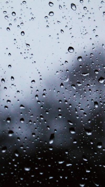 Raindrops iPhone Wallpaper HD