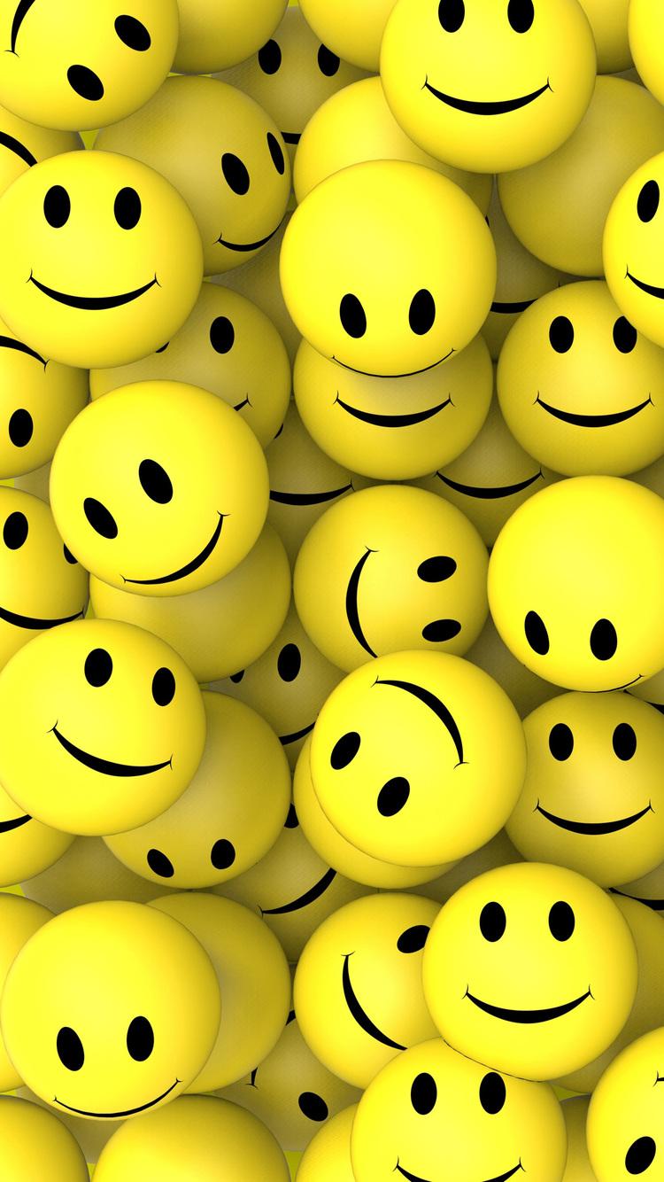 3d Emoticons Wallpapers 3d Smileys Iphone Wallpaper Hd