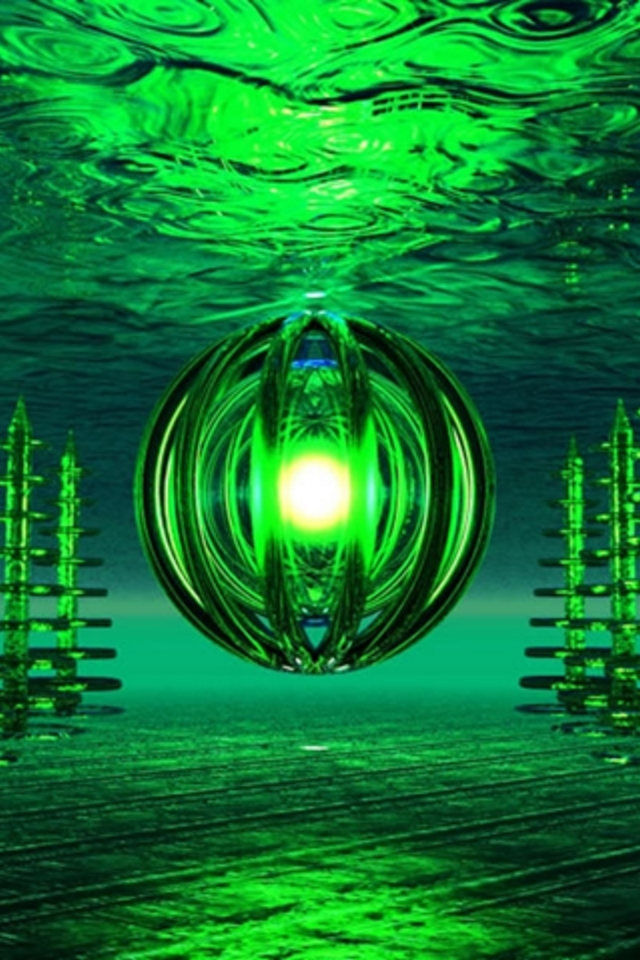 3d Animated Wallpaper For Laptop Free Download 3d Green Ipod Touch Wallpaper Background And Theme