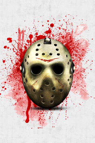 Jason Voorhees Mask Wallpaper Iphone Jason Mask Ipod Touch Wallpaper Background And Theme