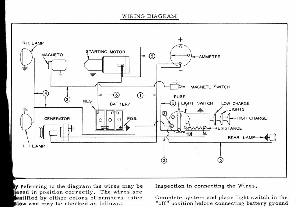 allis chalmers wiring schematic d