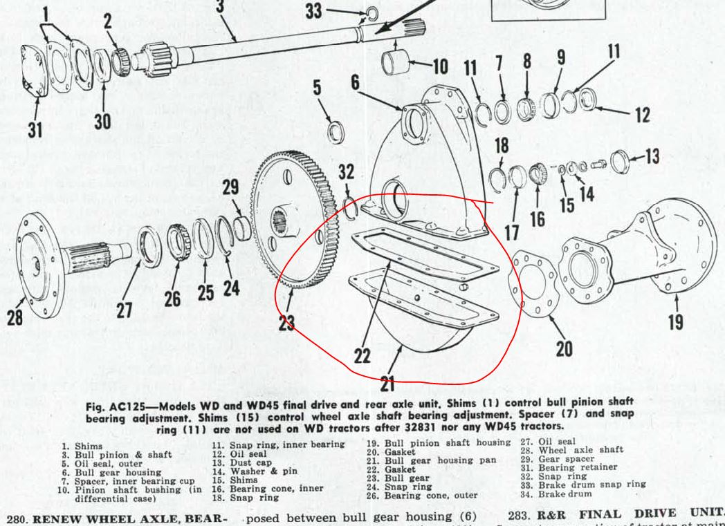 wiring diagram for allis chalmers d15