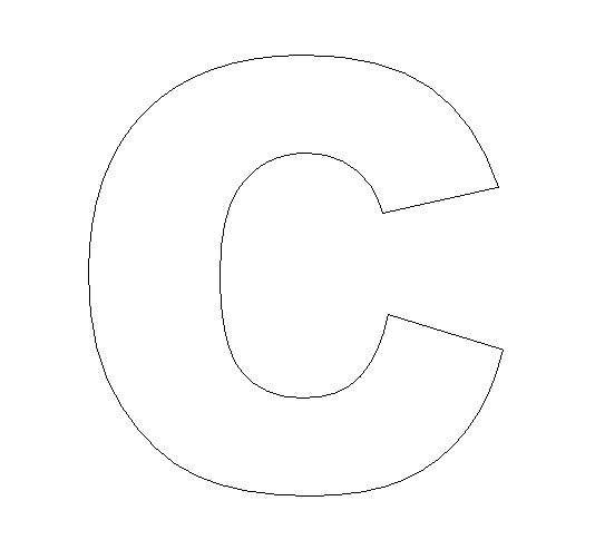 Alphabet-Felt-Board-Craft Crafts - Print your Letter C Template - templates for letters