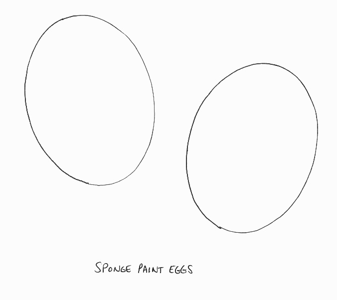 easter Crafts - Print your small easter egg template All Kids Network