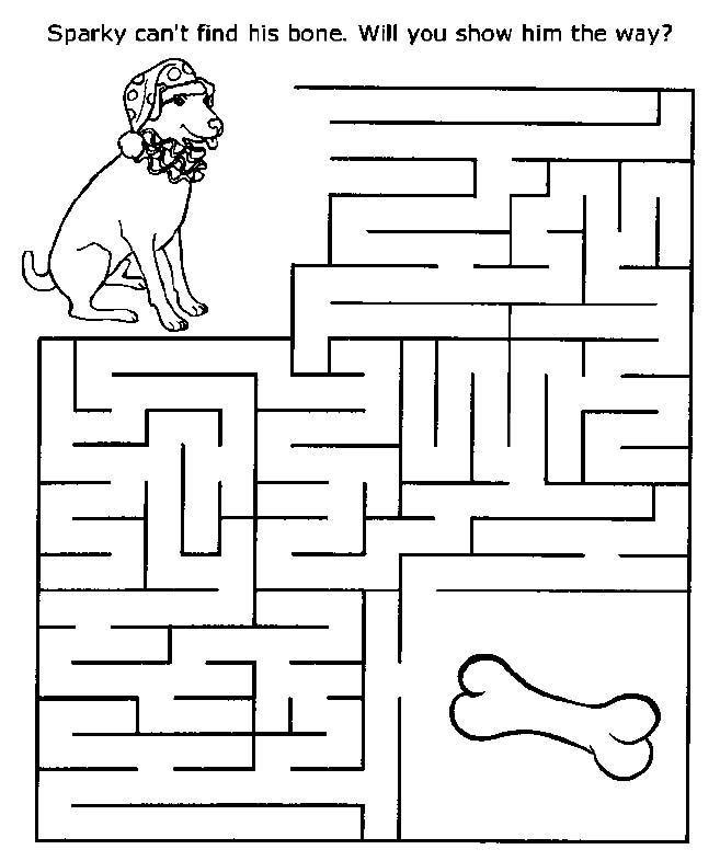 Printable Mazes for Kids - 4aKid