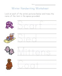 Winter Math Worksheets - winter worksheets for ...