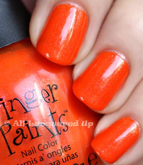 Alu39s 365 Of Untrieds Fingerpaints Outta Sight Orange