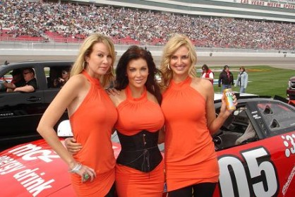 66 Hot Track Girls Nascar