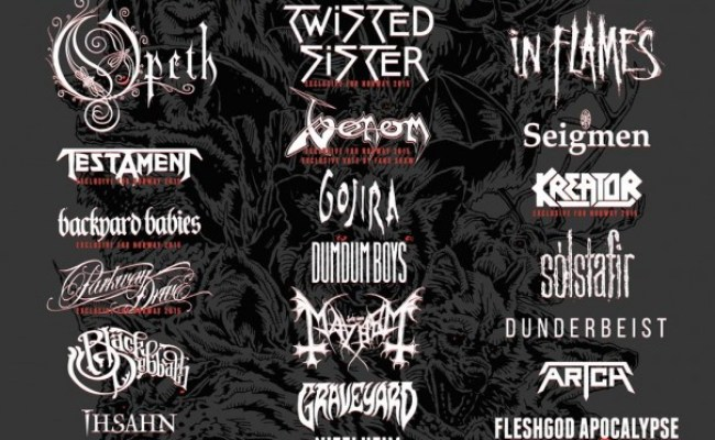 Testament Confirmed Metal Festivals