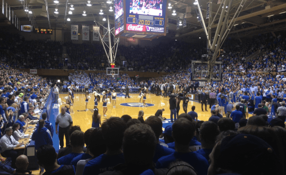 Cameron Indoor Stadium: A big help or not so much?