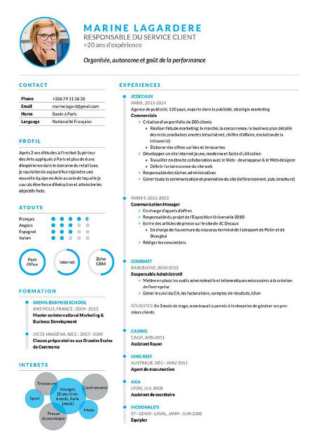 telecharger de quoi faire un cv