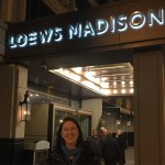 Hey look! It's Vero! At #LoewsMadison DC for the #DCTravelBlogger…