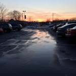 Just a #lovely night in a grocery store parking lot…