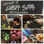 A visit to the Lush Spa in Philadelphia. _______ #familytravelmonday…