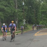 Law Enforcement United bike riders show support for families of…