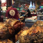 Roasted meats at DiNic's at Reading Terminal Market, Philadelphia. ________…