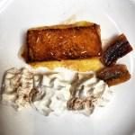 Torrijas con plátano caramelizado y espuma de ron. @jaleocc #foodie…