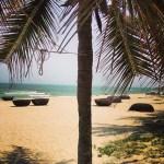 Cua Dai beach near Hoi An, Vietnam.