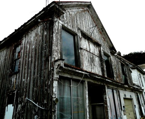 An abandoned building in Berkeley Springs, WV