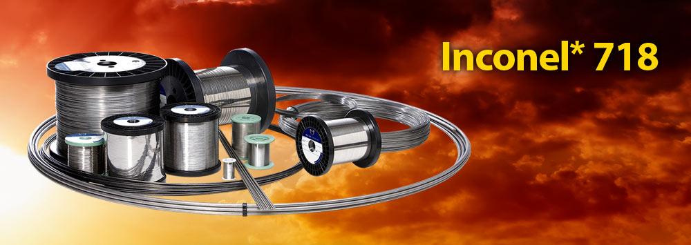 Inconel® 718 - Alloy Wire International