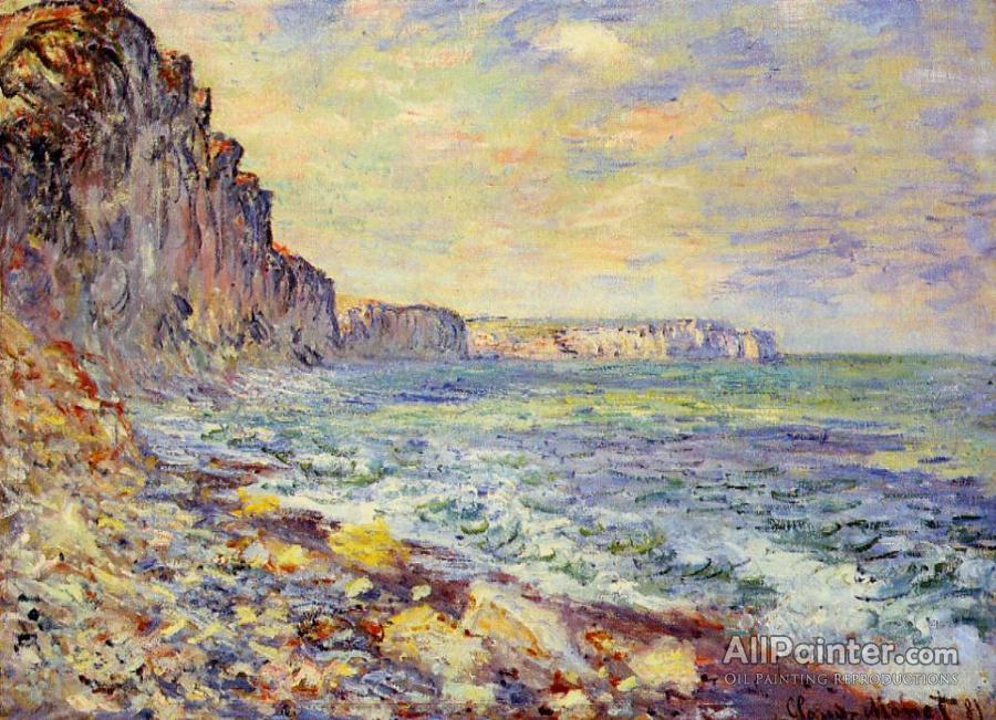 Claude Monet Morning By The Sea Oil Painting Reproductions for sale