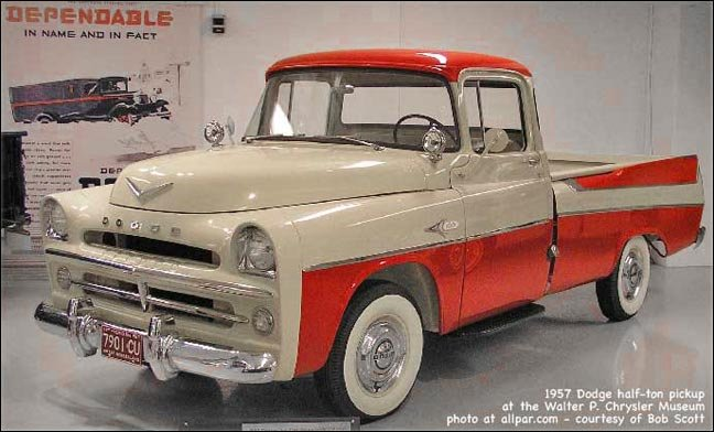 1957 Dodge Pickup Truck Control Cables  Wiring Diagram