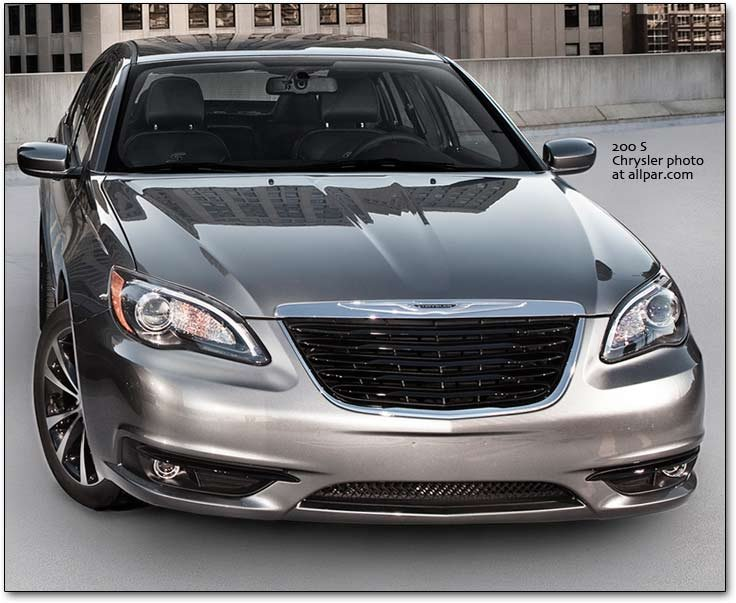 The 2011-2014 Chrysler 200 cars affordable luxury with 300 style