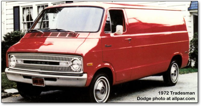 Dodge B-series vans, Ram Van, and Ram Wagon