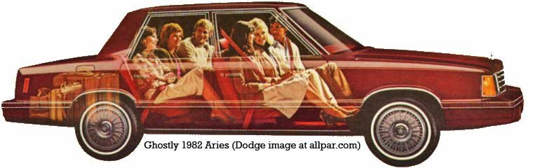 Plymouth Reliant, Dodge Aries, and Chrysler LeBaron the K-cars
