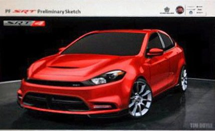 2013 Dodge Dart SRT4