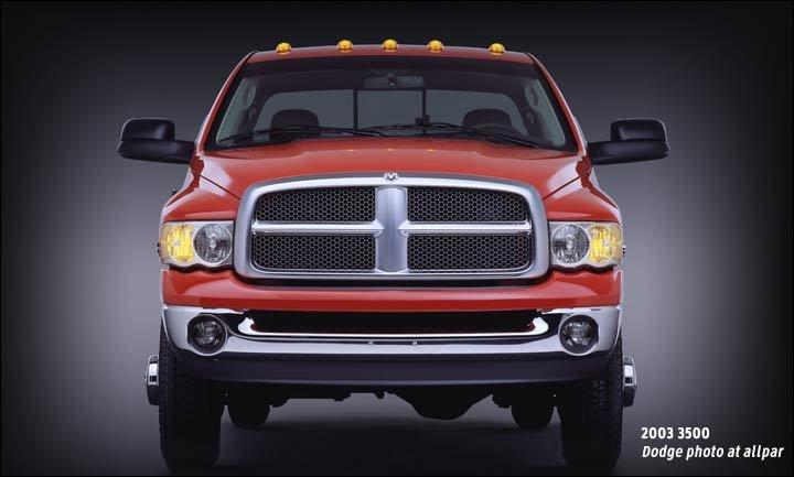2003-2009 Dodge Ram 2500 and 3500 Heavy Duty