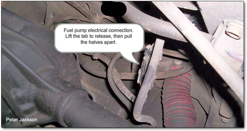 Cherokee Fuel Pump standard electrical wiring diagram