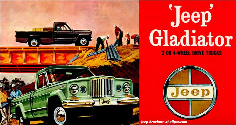 Jeep Gladiator and J-series pickups