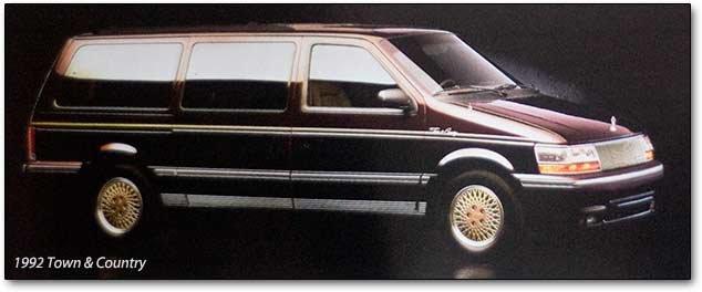 1991-1995 Dodge Caravan, Plymouth Voyager minivans