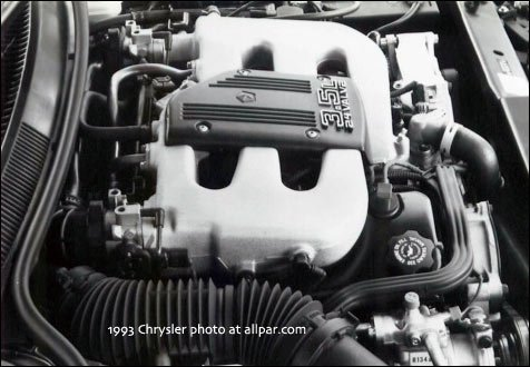 Chrysler/Dodge 35 liter V6 engines